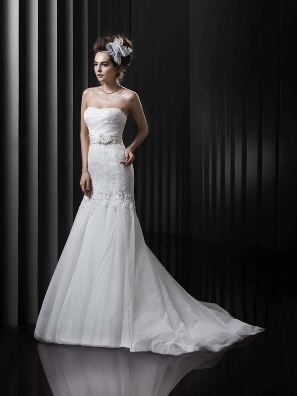 Brautkleid Enzoani Meerjungfrau Beautiful Collection