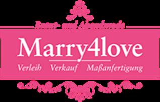 Marry4love Marry me! - Verleih von Brautkleidern, Abendmode und Accessoires