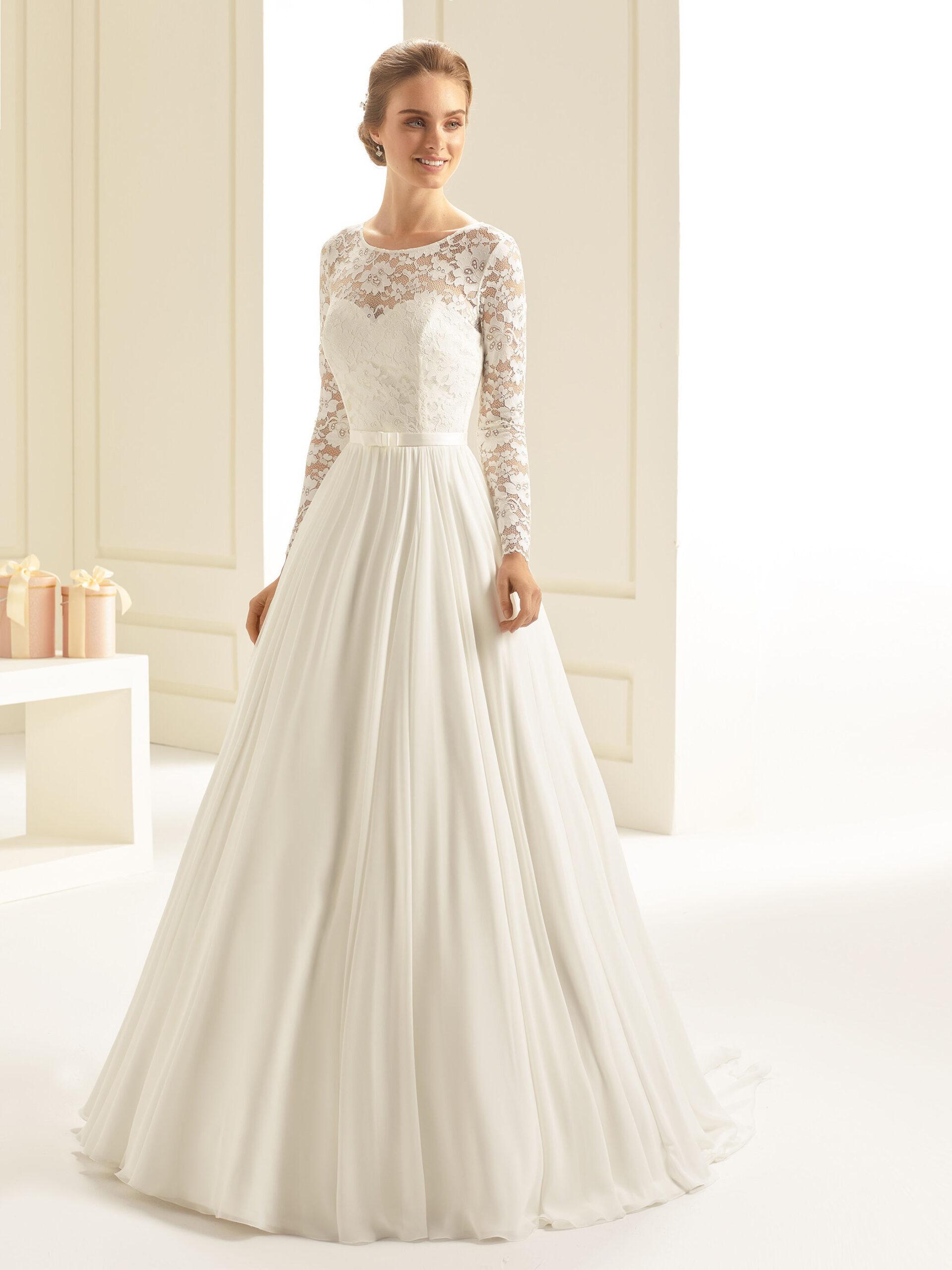 Hochzeitskleid A Form Vanessa