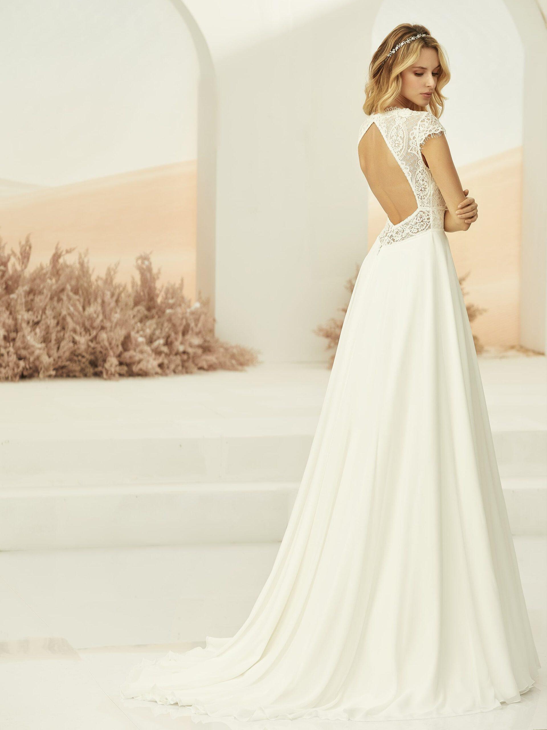 Weißes Hochzeitskleid Perla